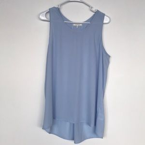 Powder blue tank top size Medium